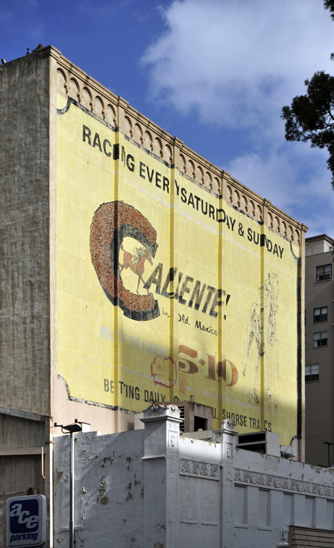 Caliente Racetrack Mural