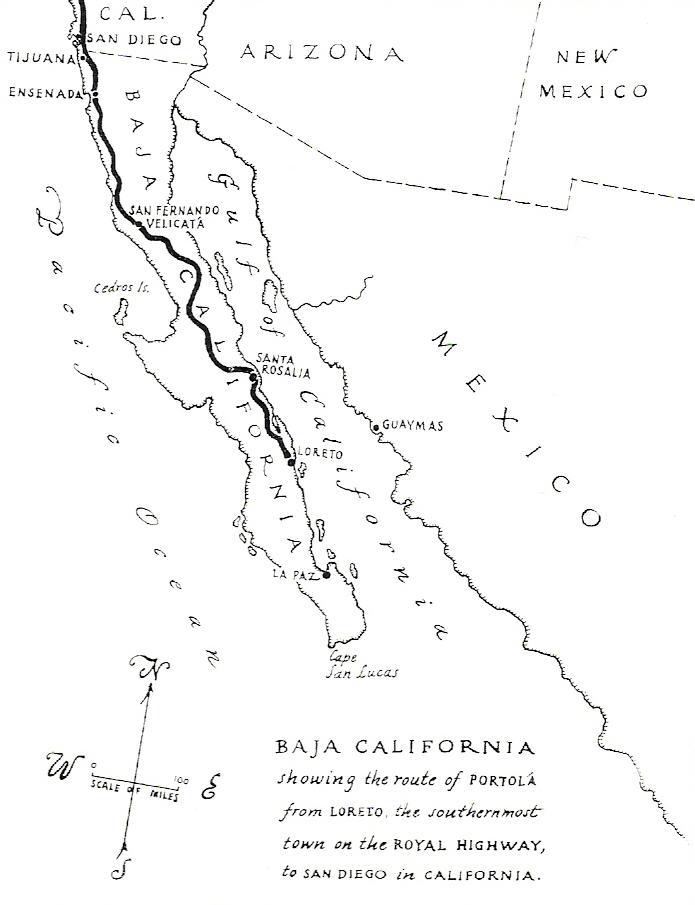 El Camino Real Misionero De Las Californias