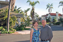 Allen Hazard and Janet O'Dea