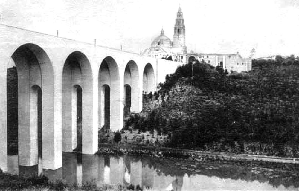 Cabrillo Bridge in Balboa Park