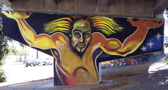 Chicano park for Chicano mural art