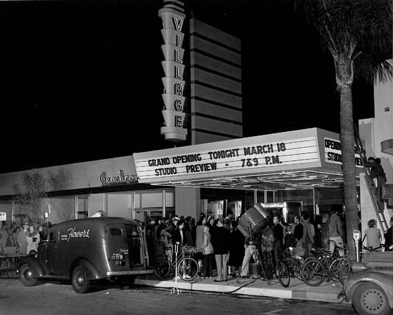 Coronado S Village Theatre Restored
