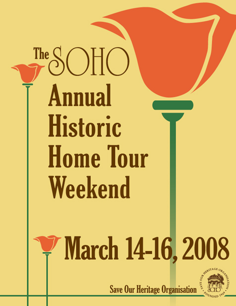 Mission Hills Historic Home tour booklet cover
