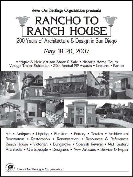 Rancho to Ranch House tour booklet cover