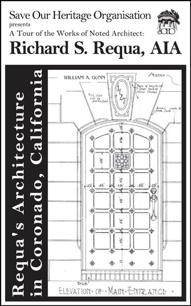 Requa's Architecture tour booklet cover