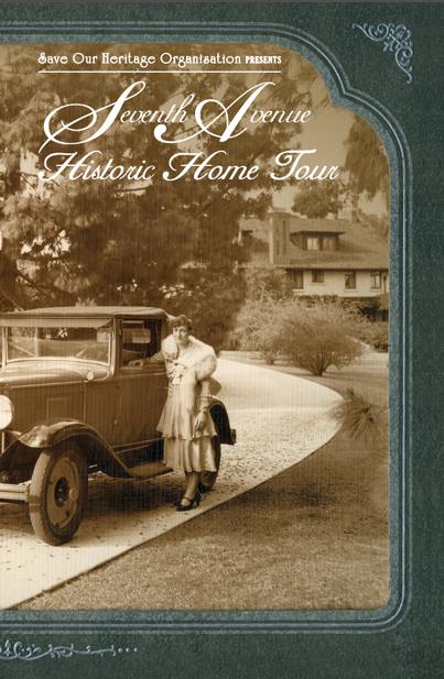 Seventh Avenue tour booklet cover